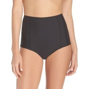 Jcrew high waisted bikini bottom
